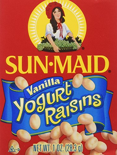 Sun-Maid Yogurt Raisins, Vanilla, 6 OZ