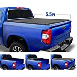 Tyger Auto T1 Soft Roll Up Truck Bed Tonneau Cover for 2014-2020 Toyota Tundra  Fleetside 5.5' Bed  TG-BC1T9041