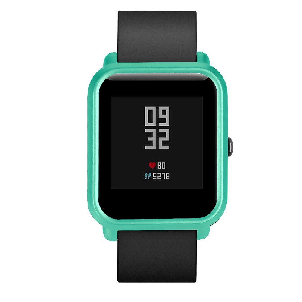 Watch Case,Shock-Proof and Shatter-Resistant PC Protective for Xiaomi Huami Amazfit Bip Youth Watch