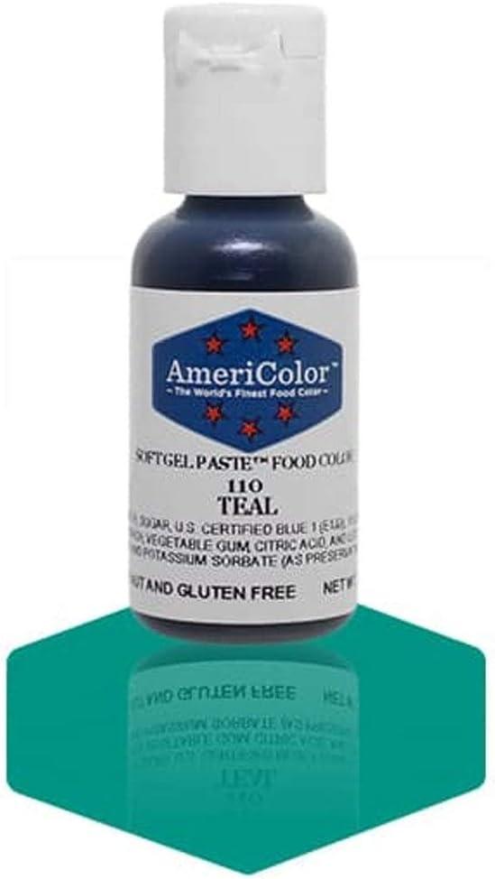 AmeriColor Colores alimentarios Soft Gel TEAL 19ml