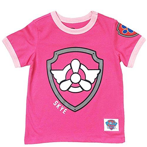 Nickelodeon Paw Patrol Ringer T-Shirt (Sky, 5T) ()