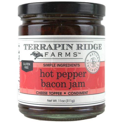 Terrapin Ridge Farms Hot Pepper Bacon Jam 11 OZ (Pack Of 2) ()