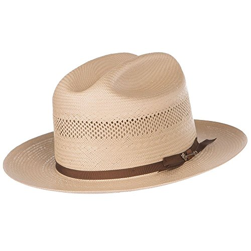 Stetson Hats Mens Open Road Vent, Toast - 7 3/8 ()