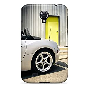 New Style AngerolaWalmaka White Bmw Z4 Roadster Rear Wheel Premium Tpu Covers Cases For Galaxy S4