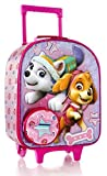 "Heys Nickelodeon Paw Patrol Girl 16"" Travel Rolling Backpack With Shoulder Strap"