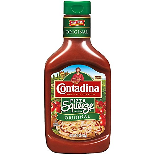 Contadina Squeeze Pizza Sauce, 15 oz (Pack of 2)