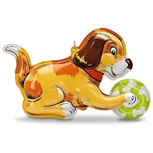 Hallmark Classic Canine Tin Toys Vintage Dog Ornament