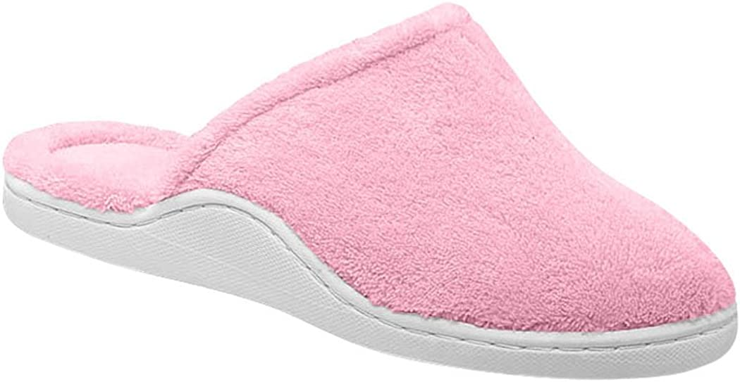 AmeriMark Womens Adult Berry Clog Slipper Synthetic Slippers
