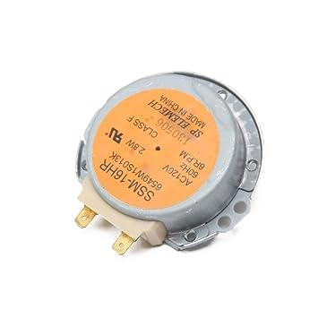 Kenmore 6549 W1s013 K para plato giratorio del microondas motor: Amazon.es: Bricolaje y herramientas