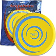 Thin Air Brands Anywhere Disc - Kids Foam Flying Disc - Super Soft for Indoor and Outdoor Use - Eight Inch Yel