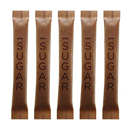 SUGART - RAW SUGAR - 500 Individual Serving Stick Packets - U Parve/Kosher by SUGART (Image #2)