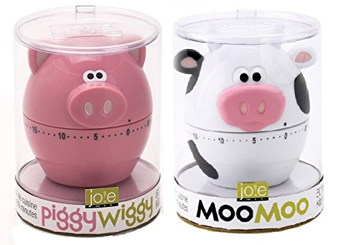 Kitchen Value Pack Piggy Wiggy and Moo Moo Timers