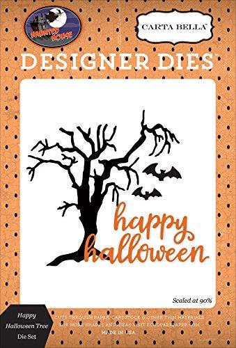 Carta Bella Paper Company CBHH71042 Happy Halloween Tree Die (Belles Photos De Halloween)