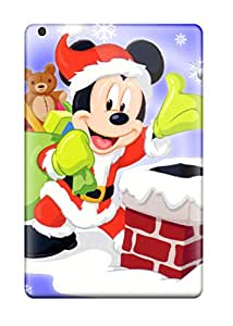 Faddish Phone Mickey Mouse Santa Case For Ipad Mini / Perfect Case Cover 5425550I89498468