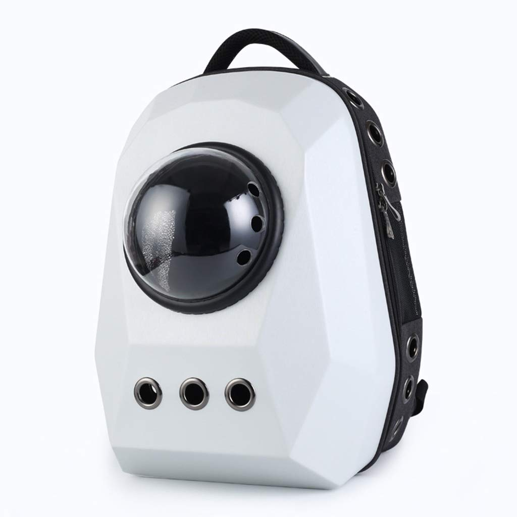 C LXFLX Extra large pet backpack Outing portable space pet cat bag Pet dog travel space backpack (color   A)