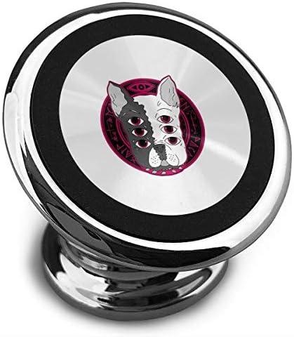 6x Eyesフレンチブルドッグ 携帯電話ホルダー おしゃれ 車載ホルダー 人気 磁気ホルダー 大きな吸引力 サポートフレーム 落下防止 360度回転
