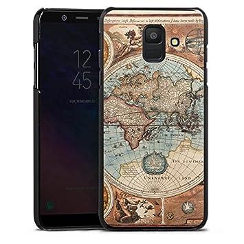 coque samsung a6 carte du monde