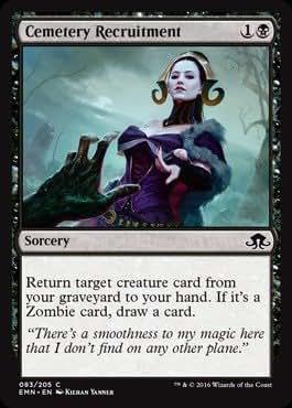 Magic: the Gathering - Cemetery Recruitment (083/205) - Eldritch Moon