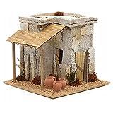 Holyart Nativity setting, Arabian house with carpenter workshop