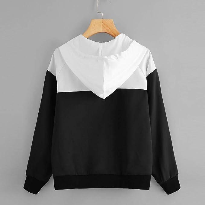 Amazon.com: BETTERUU Womens Long Sleeve Hooded Jacket Thin Skinsuits Zip Pockets Sport Coat: Clothing