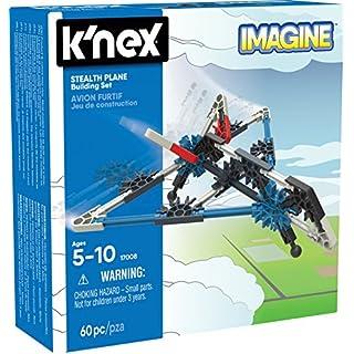 K'NEX - Stealth Plane Building Set 60 Pieces For Ages 5+ Construction Education Toy