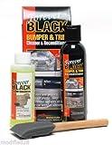 Forever BLACK 010 Kit Trim Molding Fender & Bumper Dye Complete Kit