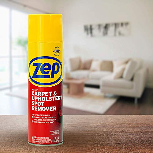 Zep Instant Carpet and Upholstery Spot Remover 19 ounce ZUSPOT19 (Case of 4) (Formerly Instant Spot Remover)