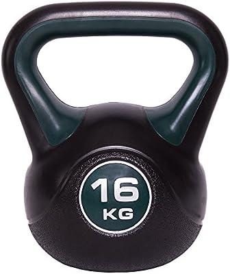 C.P.Sports Kettlebell en vinyle 2 kg 3 kg 4 kg 5 kg 6 kg 8 kg 10 kg 12 kg 14 kg 16 kg 18 kg 20 kg
