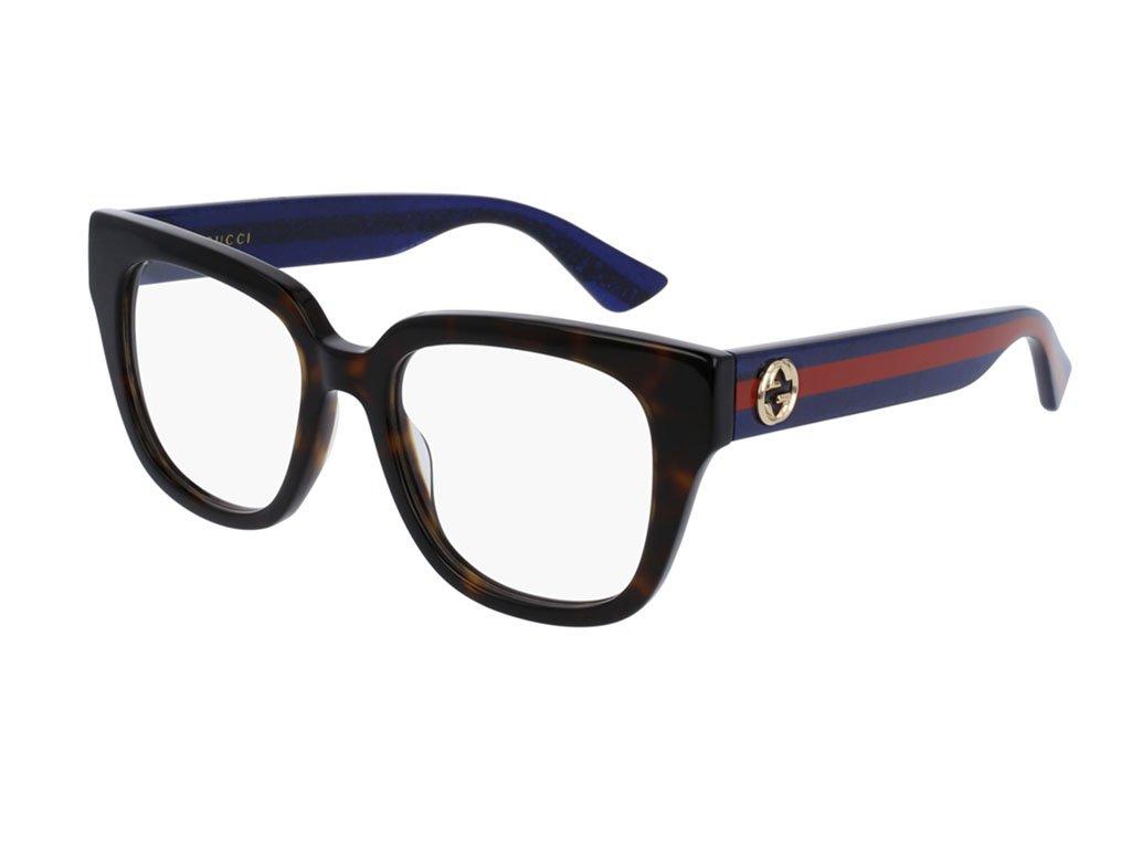 Optical frame Gucci Optyl Havana - Glitter Blue (GG0037O 003)