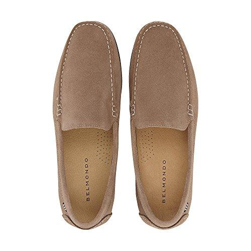 Belmondo Herren Fashion-Slipper Taupe