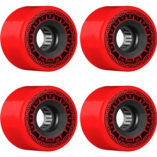 【お年玉セール特価】 Bones Wheels ATF Rough タンク Rider ATF タンク レッド スケートボードホイール B07JHK1YH6 - 56mm 80a (4個セット) B07JHK1YH6, ワールドサプライズ:6b77f339 --- mvd.ee