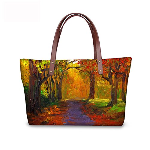 Print Tote C8wc0151al Fruit FancyPrint Casual Women Bages Handbags 15Eqzxwzg