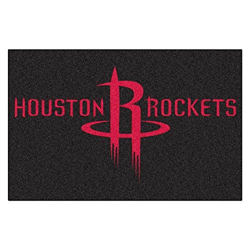FANMATS NBA Houston Rockets Nylon Face Starter Rug