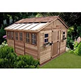 Outdoor-Living-Today-SSGS1212-Sunshed-12-x-12-ft-Garden-Shed