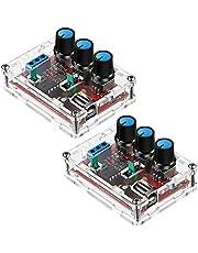 Wobekuy 2 Pcs Signal Generator Kit, XR2206 Precise Function Signal Generator Frequency Module Signal Generator DIY Kit