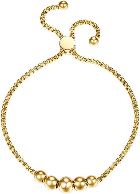 B0894DSZYL Deluxe Stainless Steel Bracelet Metal Clips Women Purple)