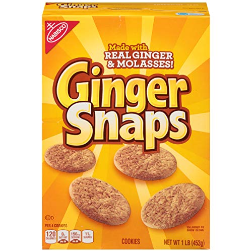 (Ginger Snaps Cookies, 16 Ounce)