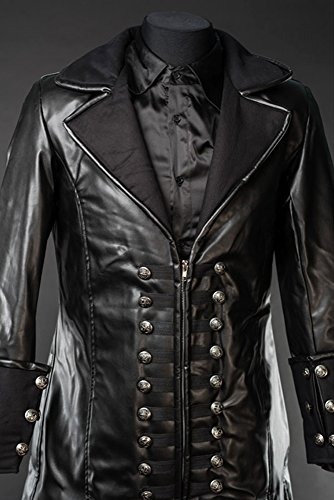 Dracula Clothing Mantel Black Captain