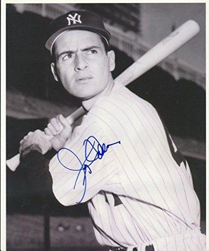 Jerry Coleman Signed Photo - 8x10 W coa - Autographed MLB Photos