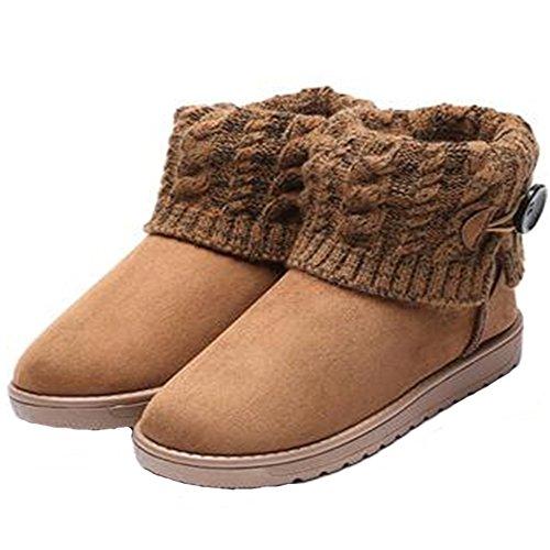 1268bbc3c95b3 Wicky LS babero impermeable de cómodo botas Totalmente sintético corto  Invierno – Botas de nieve de