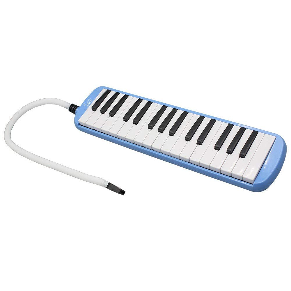 A-WD Glarry 32-Key Melodica with Mouthpiece & Hose & Bag Black by A-WD