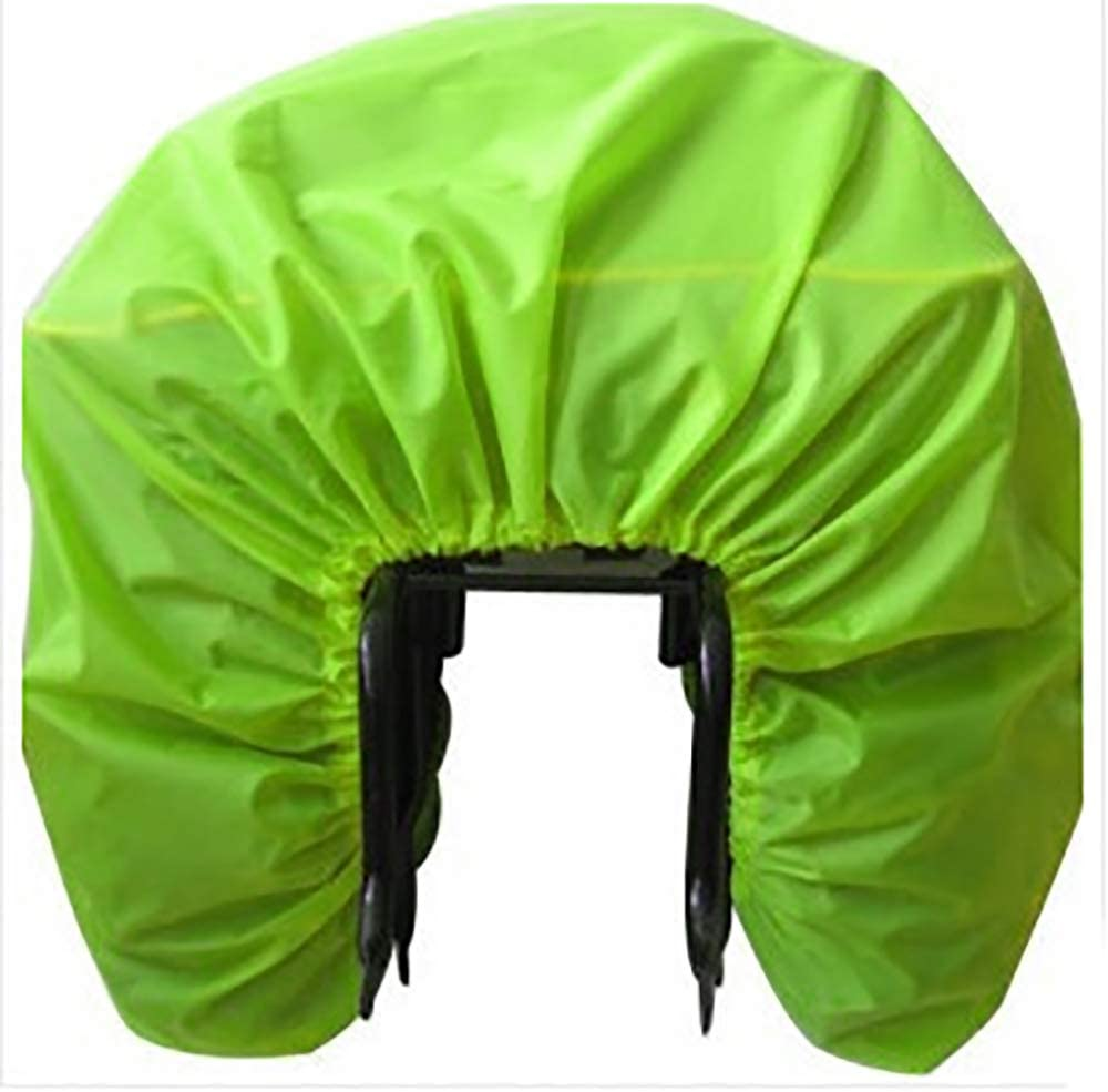 1pc imperméable à vélo de siège de pluie de couverture de poussière résistent