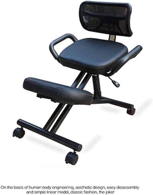 Steel Frame Ergonomic Posture Orthopaedic Posture Home Kneeling Office Chair Red Sfhs Org