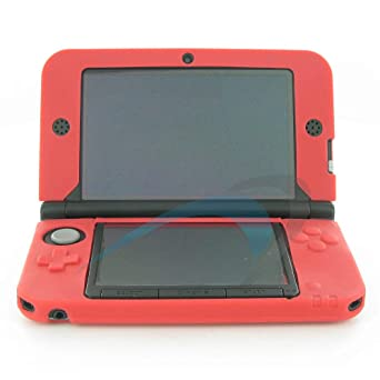 best sneakers 47ab7 00d26 Protective case for Nintendo 3DS XL silicone soft gel rubber cover ...