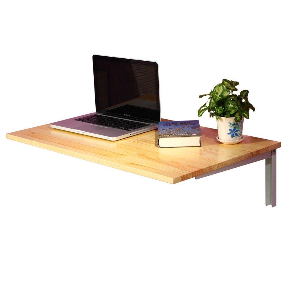 XIAOLIN ウォールマウントクリエイティブ折りたたみテーブルコンピュータデスクダイニングテーブルウォールテーブルブックテーブルウォールマウント落書きテーブル2色 (色 : 01) B07D56ML4T 1 1