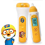 Hubdic Pororo Non-Contact Infrared Digital Thermometer for Baby, Child Ear & Forrehead