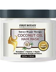 Coconut Oil Hair Mask, 8.8 fl. oz. Restorative Hair...