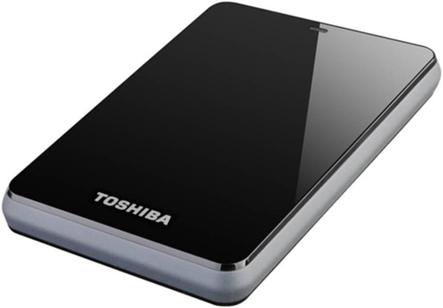 Toshiba STOR.e Canvio - Disco Duro Externo de 1 TB, Negro: Amazon ...