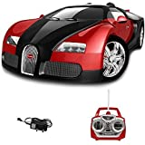 Baybee 767-P8-Red Remote Control Rechargeable Bugatti Veyron Car, RED