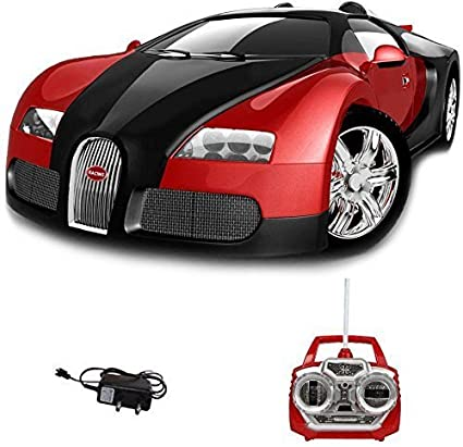 Buy Webby Remote Control Rechargeable Bugatti Veyron Car Red Online